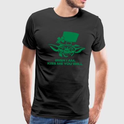 Yoda St. Patrick's Day - Men's Premium T-Shirt