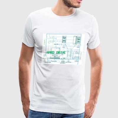 Computer Geek T - Men's Premium T-Shirt