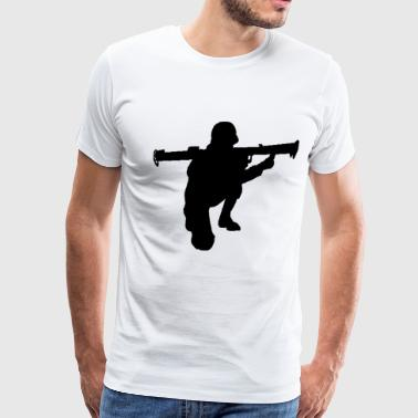 Bazooka Soldier - Men's Premium T-Shirt