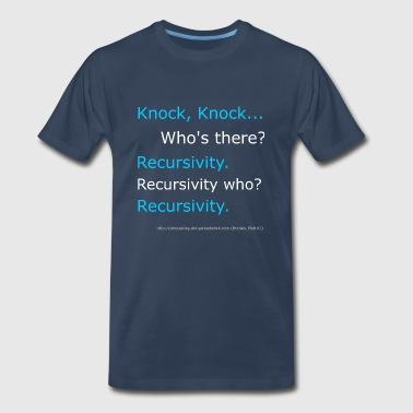 Recursivity  - Men's Premium T-Shirt