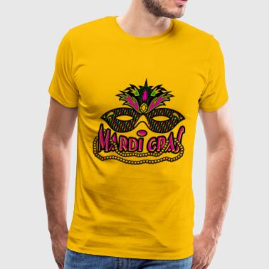 Mardi Gras mask - Men's Premium T-Shirt