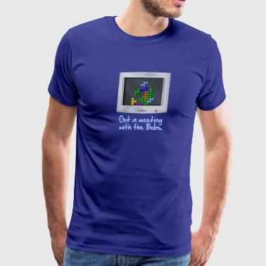 Meeting with the Bobs-Office Space - Men's Premium T-Shirt
