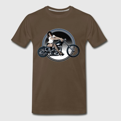 Chopper Girl Shirt - Men's Premium T-Shirt