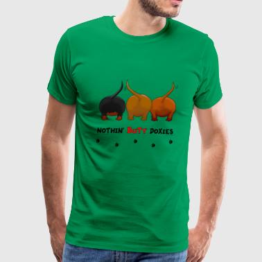 Nothin' Butt Dogs T-shirt - Men's Premium T-Shirt