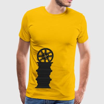 Hachi-Life Supra Wheel Stack - Men's Premium T-Shirt
