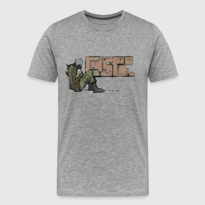 Combine Graffiti - Men's Premium T-Shirt