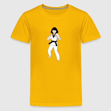 Taekwondo Princess Girls Kids T shirt   - Kids' Premium T-Shirt