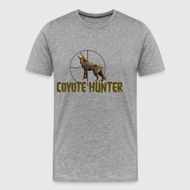 Coyote Hunter Shirt - Men's Premium T-Shirt