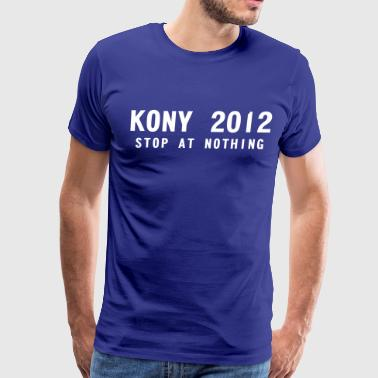 KONY 2012 tee - Men's Premium T-Shirt