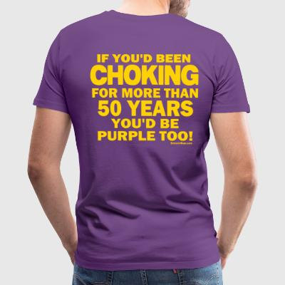 Sconsinwear Vikings Purple T-Shirts - Men's Premium T-Shirt