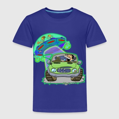 Ongher's UFO Alien Abduction Baby & Toddler Shirts - Toddler Premium T-Shirt