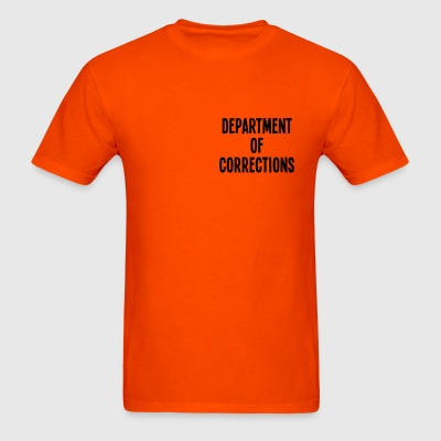 Department of Corrections - Men's T-Shirt