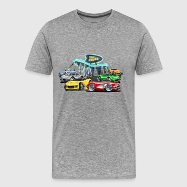 Corvette toy store - Men's Premium T-Shirt
