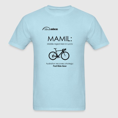 Cycling T Shirt - MAMIL (middle aged men in lycra) - Men's T-Shirt