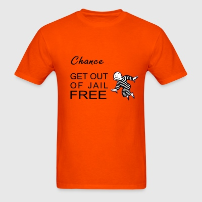 GET OUT OF JAIL CARD - Men's T-Shirt