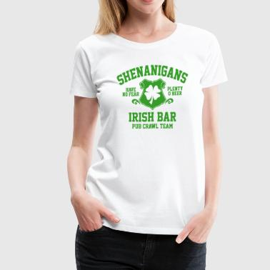shenanigans irish pub crawl team - Women's Premium T-Shirt