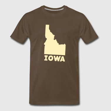 Where Ya From? Iowa? Men's Tee - Men's Premium T-Shirt