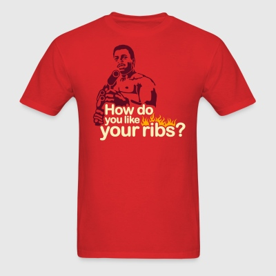 How do you like your ribs? - Men's T-Shirt