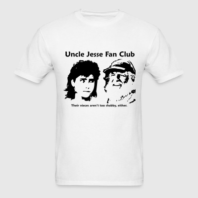 Uncle Jesse - White - Men's T-Shirt