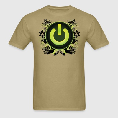 Power Button Clubbing - Men's T-Shirt