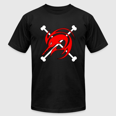 Arlong Jolly Roger  - Men's T-Shirt by American Apparel