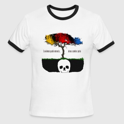 Colombia - Violencia Enterrada - Men's Ringer T-Shirt