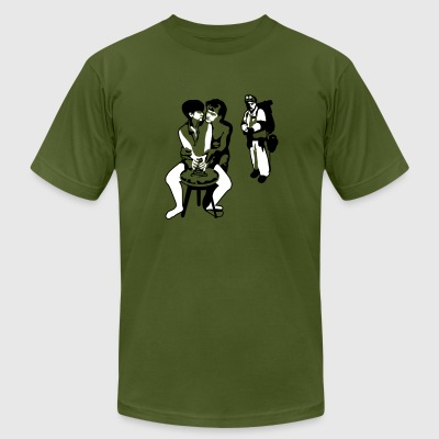 Who you gonna call? - Men's T-Shirt by American Apparel