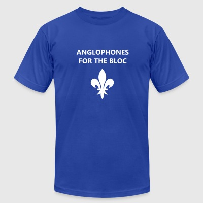 Anglophones for the Bloc - Men's T-Shirt by American Apparel