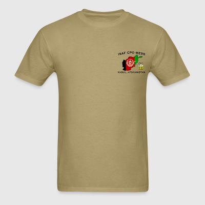 ISAF PSD CPO Mess T Light - Men's T-Shirt