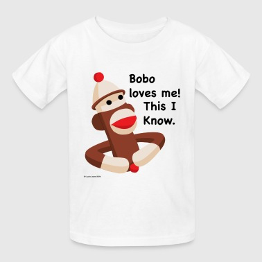 Bobo loves me. This I know. - Kids' T-Shirt