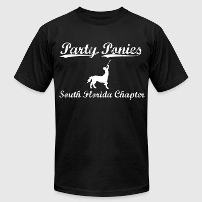 Party Ponies - Men's T-Shirt by American Apparel