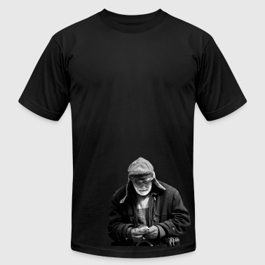 Homeless - Men's T-Shirt by American Apparel