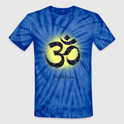 OM For All Spirits - Unisex Tie Dye T-Shirt