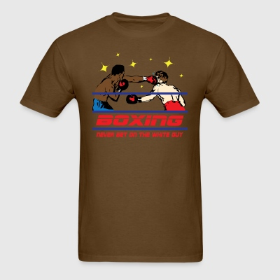 Boxing - Funny Shirt - Men's T-Shirt
