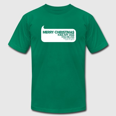 Merry Christmas - Men's T-Shirt by American Apparel