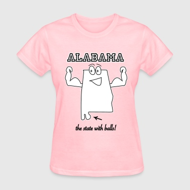 State with balls Alabama t-shirts - Women's T-Shirt