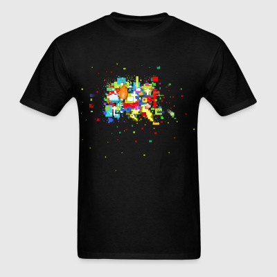 Blocks - Men's T-Shirt