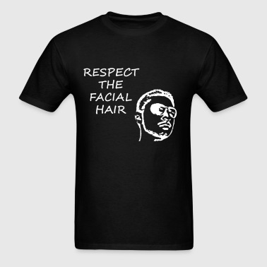 FACIAL HAIR WHITE (MEN'S) - Men's T-Shirt
