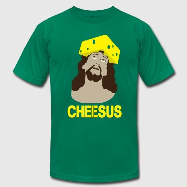 Cheesus [M] - Men's Fine Jersey T-Shirt