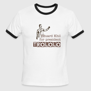 trololo for president - Men's Ringer T-Shirt