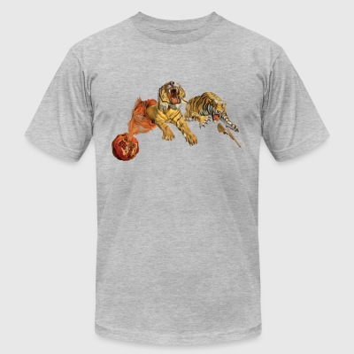 Flight of a Bee  - Men's T-Shirt by American Apparel