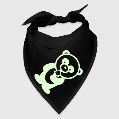 Glow In The Dark - ICE CREAM PANDA - Bandanna - Bandana