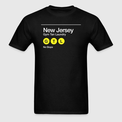 GTL New Jersey Non-Stop Subway Shirt - Men's T-Shirt