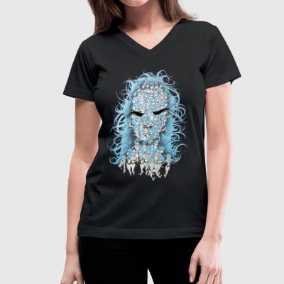 Army of Me - Women's V-Neck T-Shirt