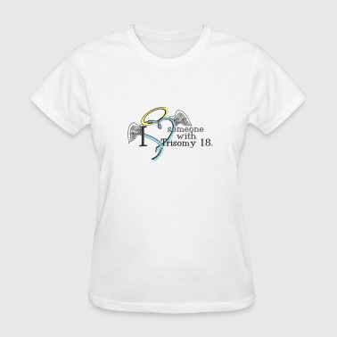 love_some_with_t18_angel Women's T-Shirts - Women's T-Shirt