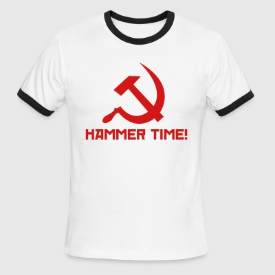 Hammer Time! [Men's Ringer] - Men's Ringer T-Shirt