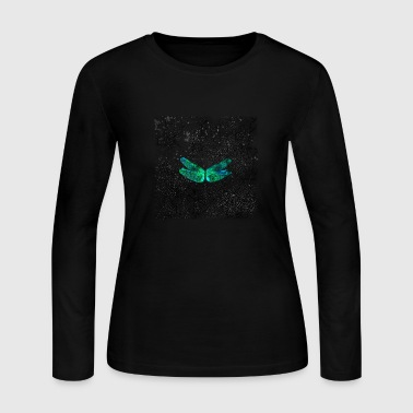 Dragonfly Fossil Tee - Women's Long Sleeve Jersey T-Shirt