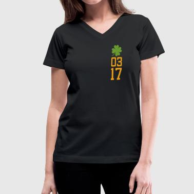 0317 T-Shirts - Women's V-Neck T-Shirt