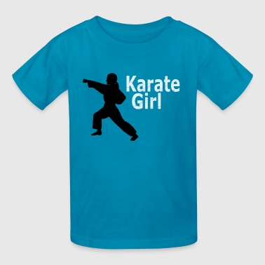 Karate Girl T shirt - Kids' T-Shirt