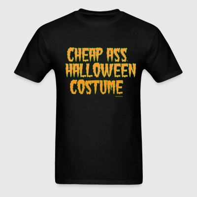 Cheap ass Halloween - Men's T-Shirt